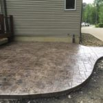 Stamped concrete patio Gates Mills Ohio 44040