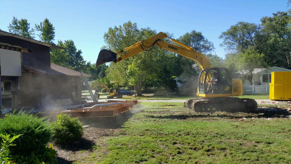 Home demolition Pepper Pike  Ohio tear down 44124