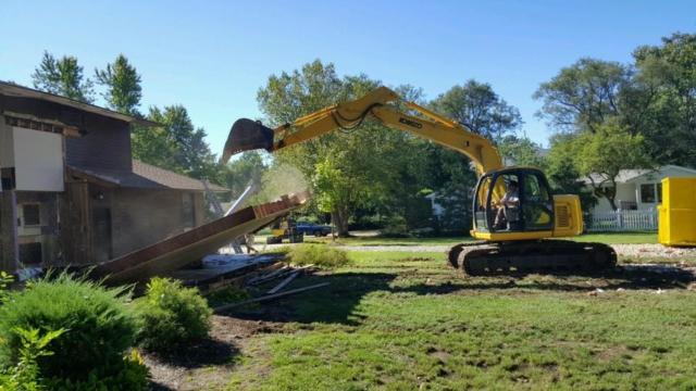 Home demolition Beachwood Ohio 44122