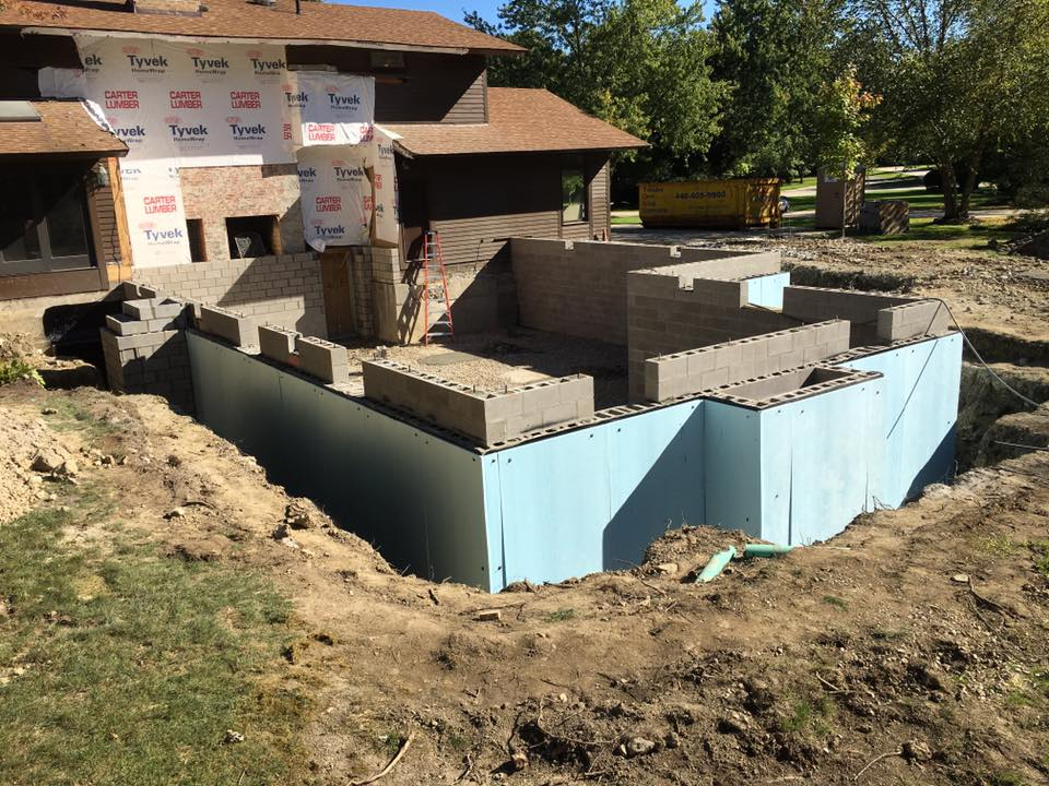 Masonry Basement Foundation Gates Mills Ohio 44040