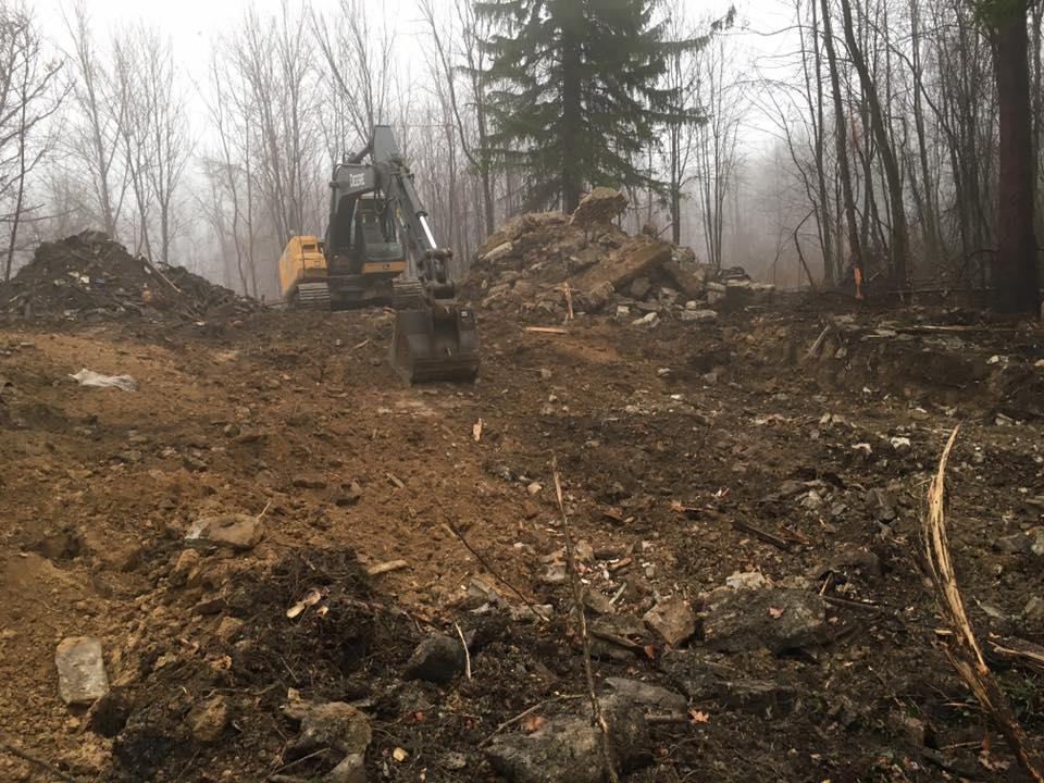 Excavation site work Chagrin Falls Ohio 44022