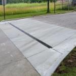 Concrete Street apron Chardon Ohio 44024