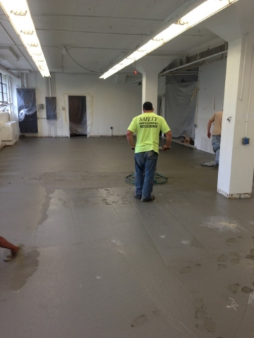 Concrete floor Fairport Harbor Ohio