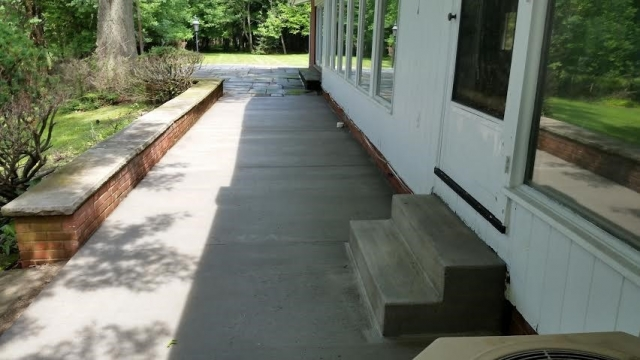 Concrete Patio Pepper Pike Ohio 44124