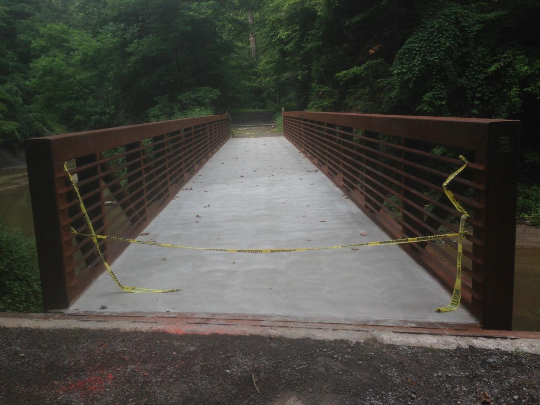Concrete Pedestrian bridge