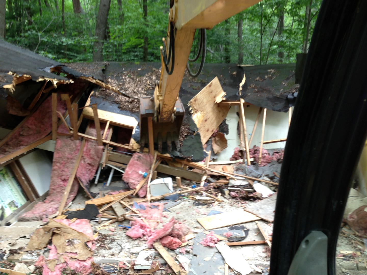 Home tear down Demolition Perry Ohio 44081