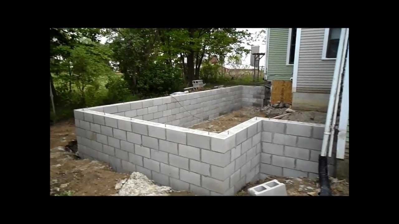 Crawl space foundation Addition Chesterland Ohio 44026