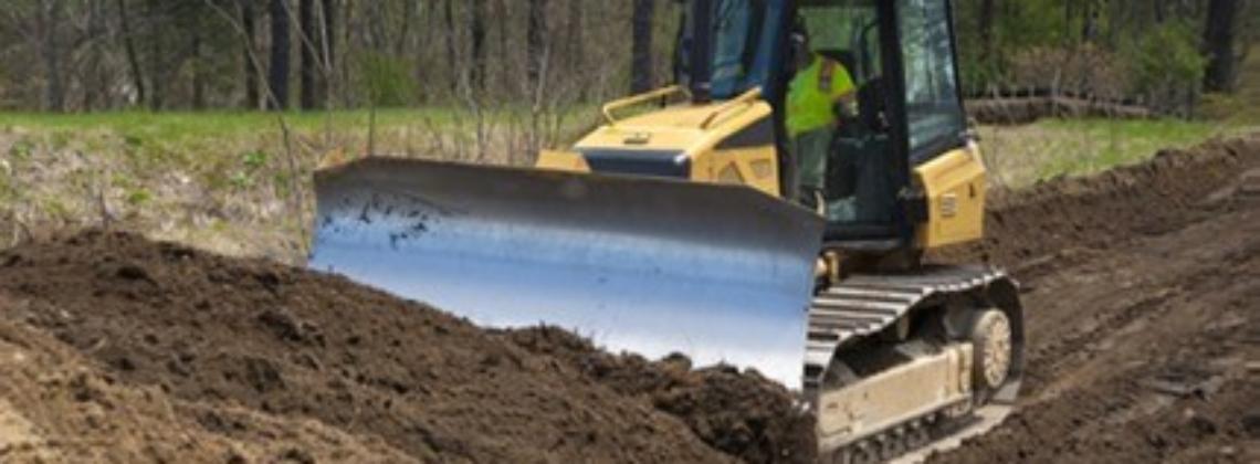 Grading with dozer in Chardon Ohio 44024, Excavation Services
