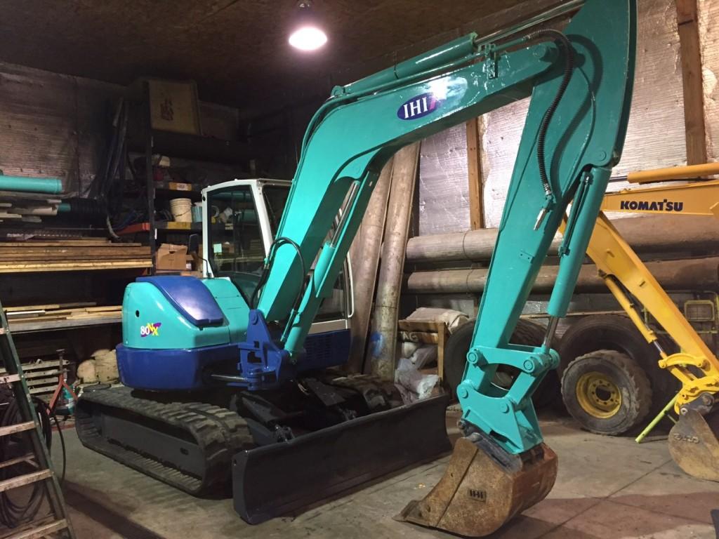 Mini Excavator.