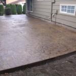 Chardon Italian Slate seamless stamped concrete Chardon Ohio