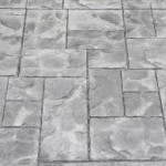 Gates mills Ohio 44040 stamped Concrete Colored