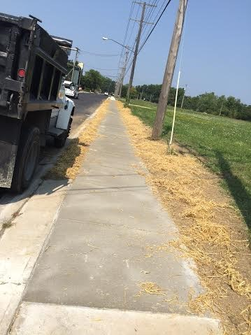 Concrete sidewalk replacement Chardon Ohio 44024