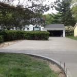 Concrete Driveway in Mentor, Ohio
