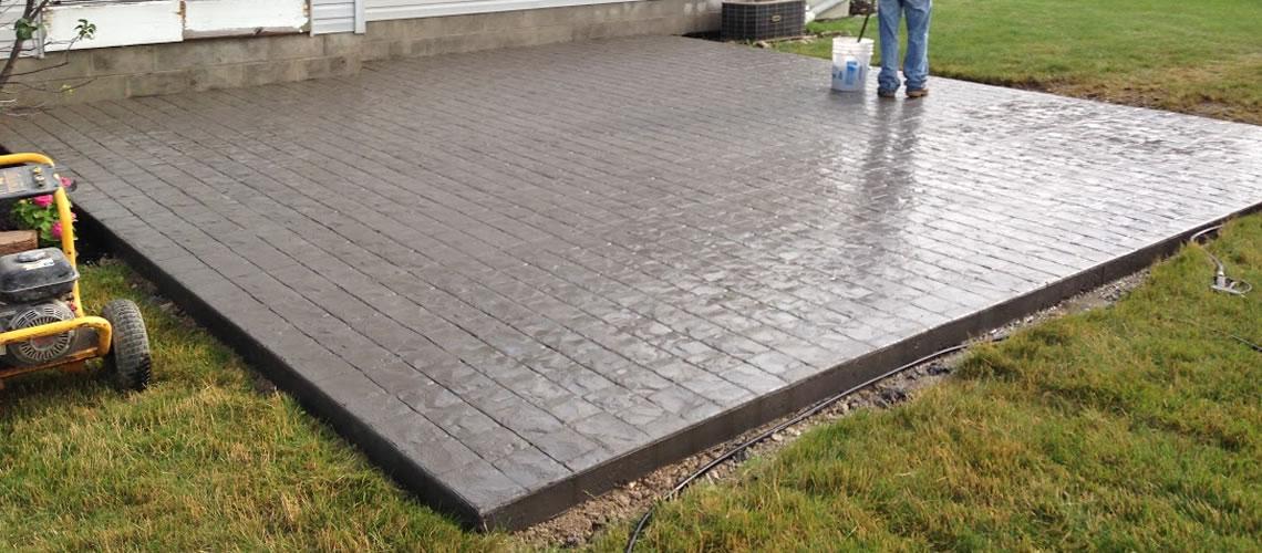 new concrete patio Sagamore Hills, Ohio