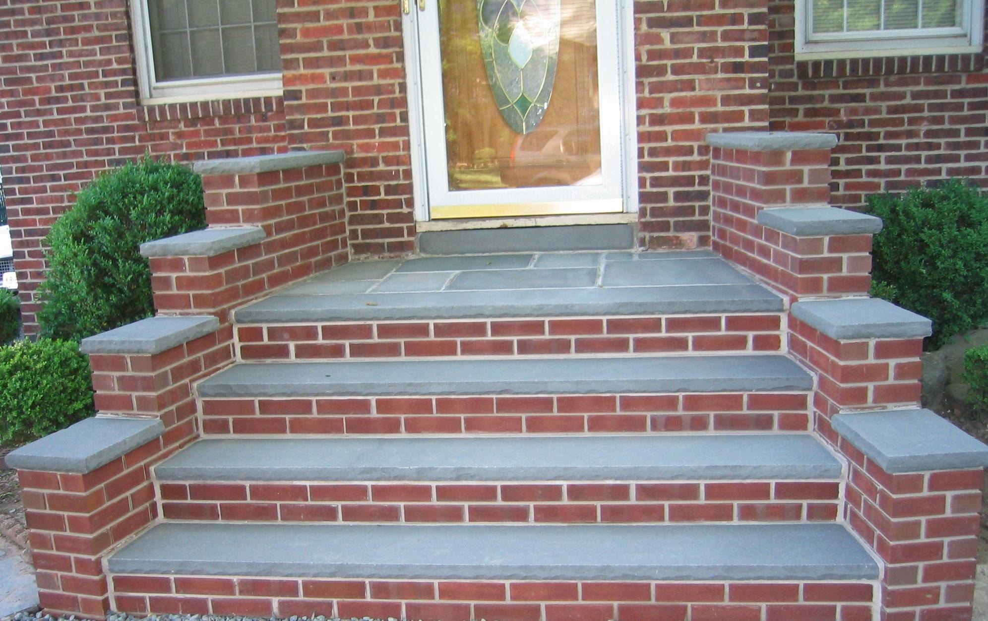 Brick masonry step Chagrin Falls Ohio