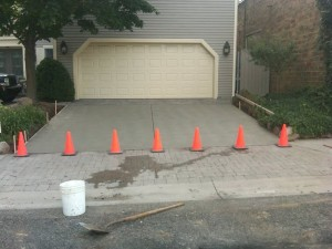 Concrete driveway paving in Pepper Pike Ohio