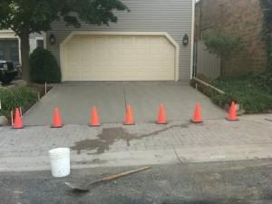 Concrete residential commercial aurora ohiopatios driveway