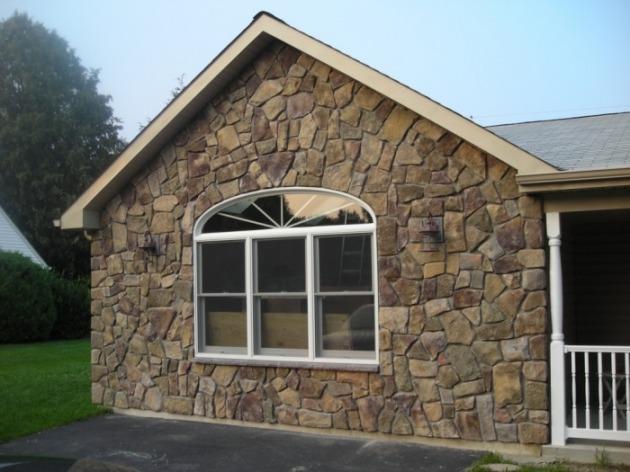 cultured stone veneer masonry
