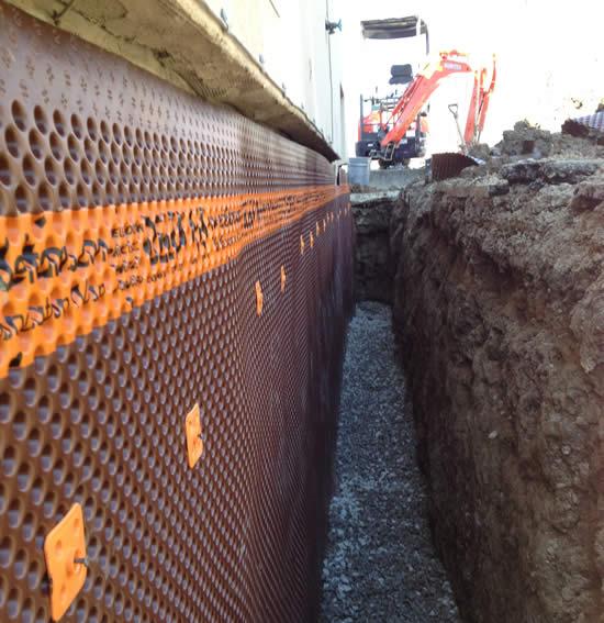 Basement waterproofing contractor Novelty Ohio 44072