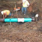 Sanitary Line repair