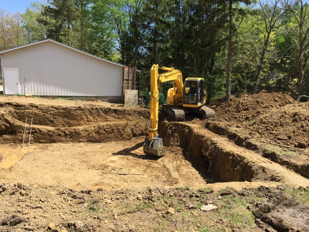 digging a basement in Geauga County