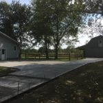 Residential concrete driveway contractor