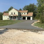 Concrete driveway paving in Chardon, Ohio