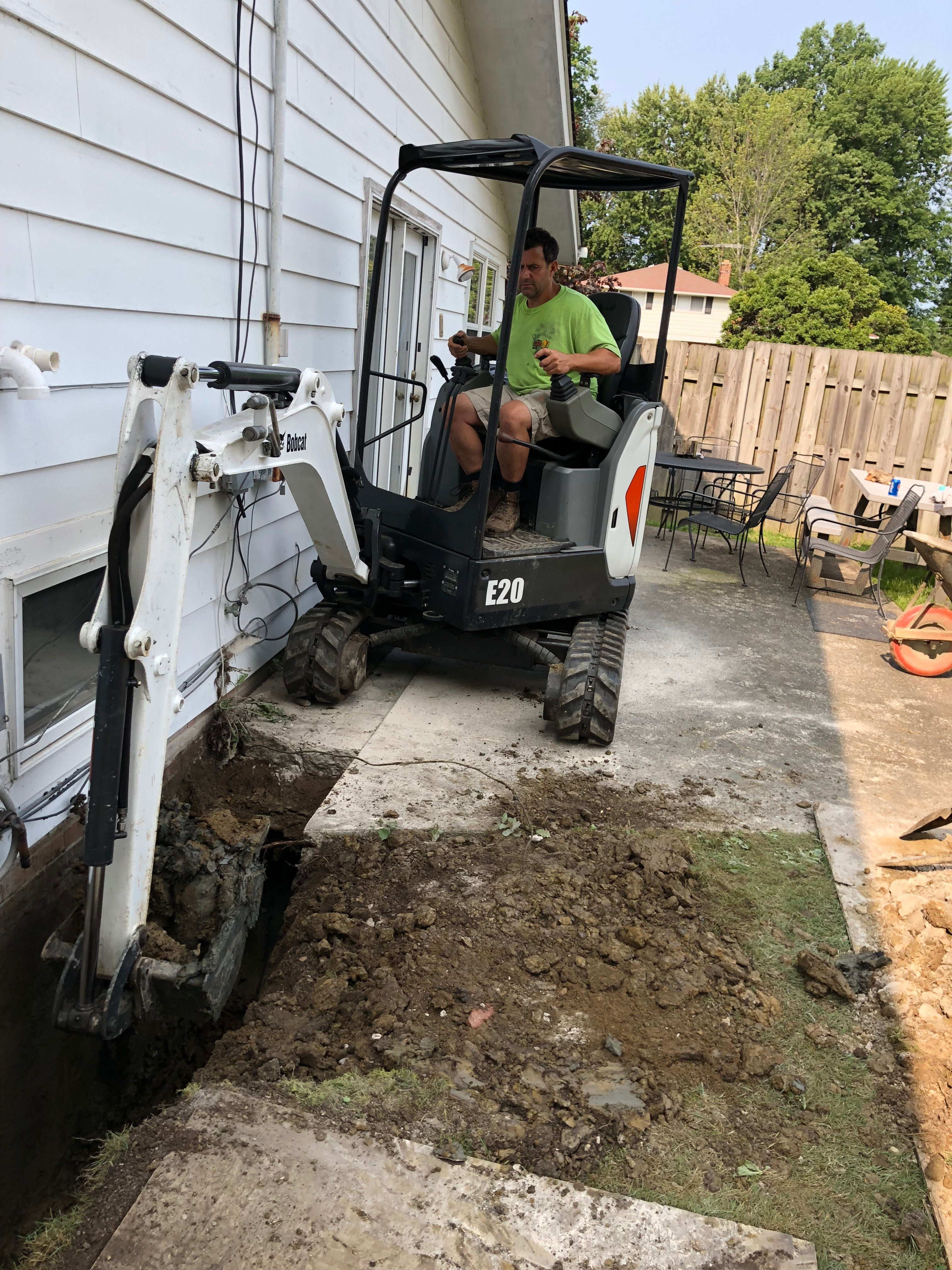 Wet basement repair and Basement Waterproofing Solon, OH