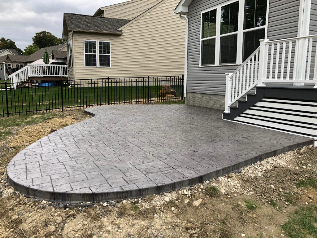 concrete Patio Aurora Ohio
