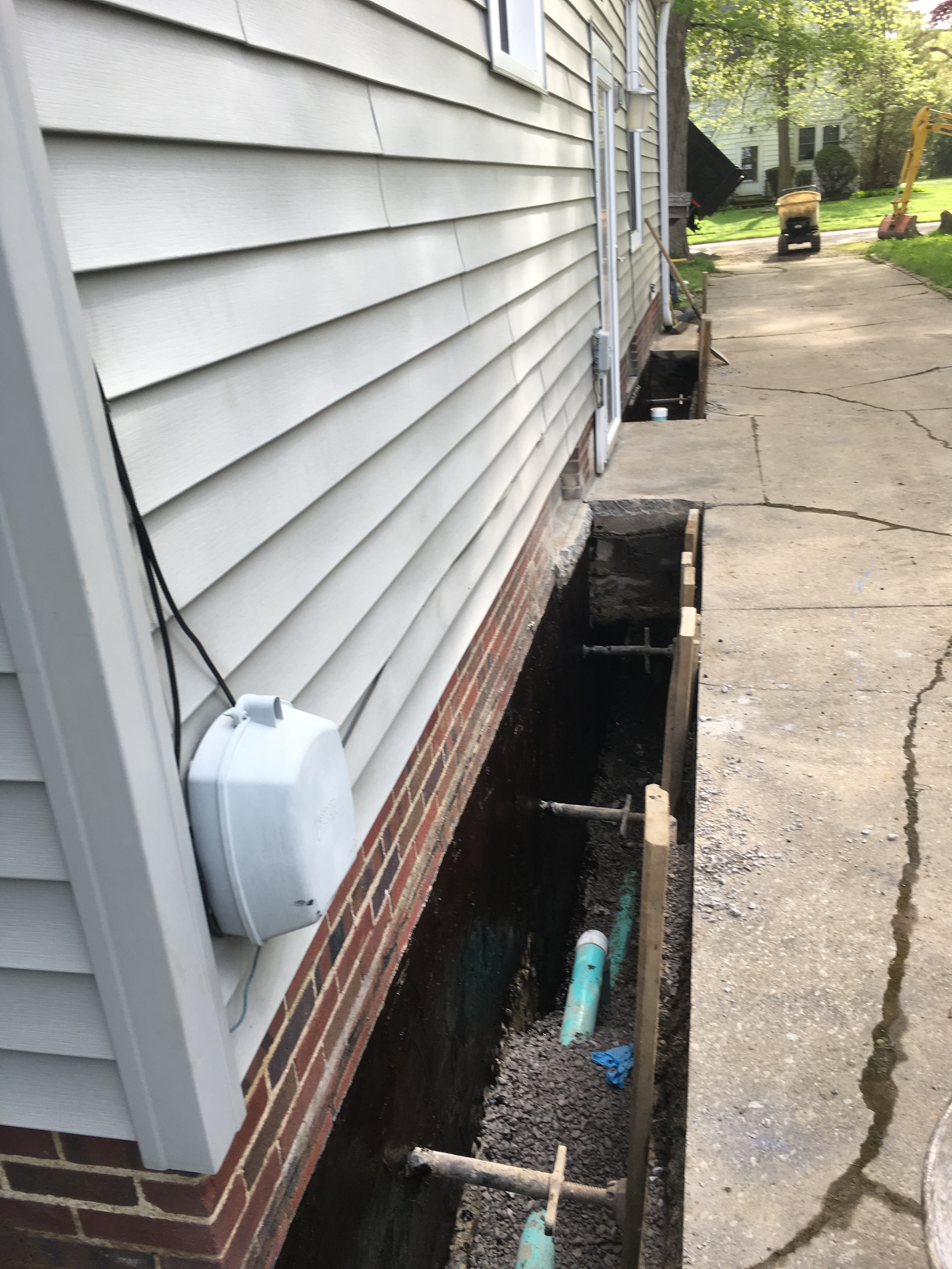 Chagrin Falls, Ohio Basement Waterproofing