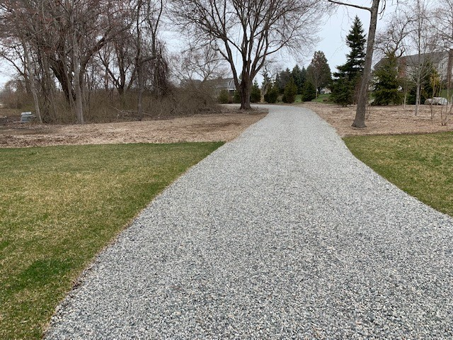 Gravel driveway Novelty Ohio