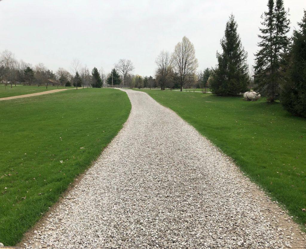 Gravel driveway installation Chagrin Falls Ohio